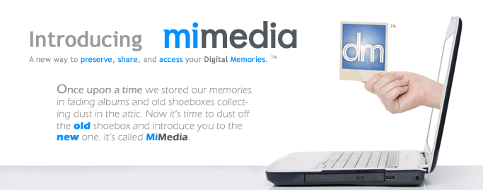 Introducing MiMedia Online Backup and Online Storage