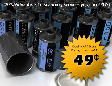 APS & Advantix Scanning Services you can Trust.
