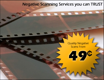 Negative Scanning Services You Can Trust