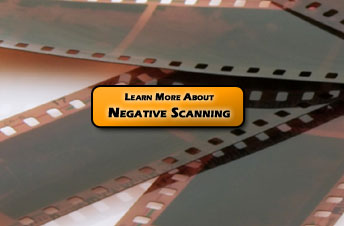 Transfer your Negatives to CD or DVD today with our Negative Scanning & Digitizing Services