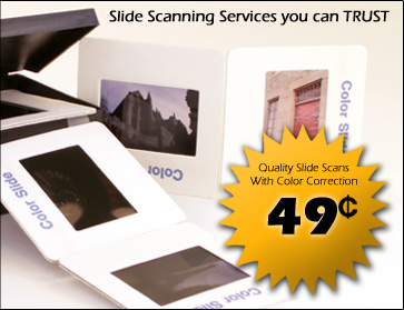 Slide Scanning & Digitizing you can Trust.
